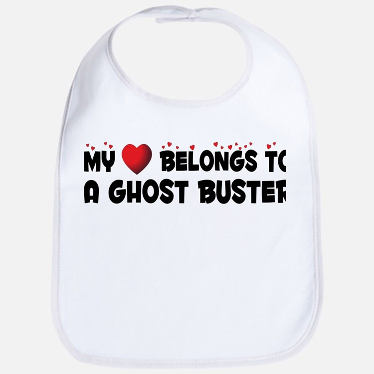 Belongs To A Ghost Buster Bib