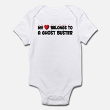 Belongs To A Ghost Buster Infant Bodysuit