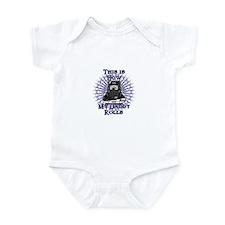 How Daddy Rolls Infant Bodysuit