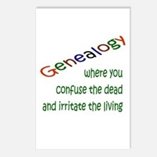 Genealogy Confusion (gre) Postcards (Package of 8)