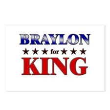 BRAYLON for king Postcards (Package of 8)