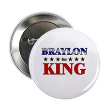 "BRAYLON for king 2.25"" Button (10 pack)"