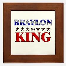 BRAYLON for king Framed Tile