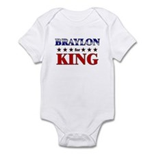BRAYLON for king Infant Bodysuit