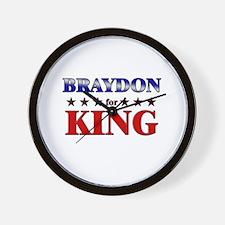 BRAYDON for king Wall Clock