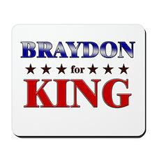 BRAYDON for king Mousepad