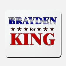 BRAYDEN for king Mousepad