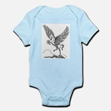 Pegasus Illustration Infant Creeper