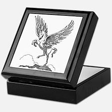 Pegasus Illustration Keepsake Box