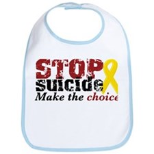 STOP suicide make choice Bib