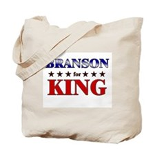 BRANSON for king Tote Bag