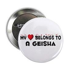 """Belongs To A Geisha 2.25"""" Button (100 pack)"""