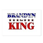 BRANDYN for king Postcards (Package of 8)