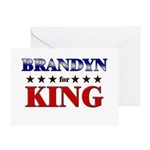 BRANDYN for king Greeting Card