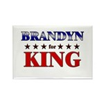 BRANDYN for king Rectangle Magnet