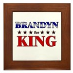 BRANDYN for king Framed Tile
