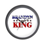 BRANDYN for king Wall Clock