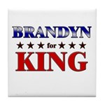 BRANDYN for king Tile Coaster