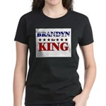 BRANDYN for king Women's Dark T-Shirt