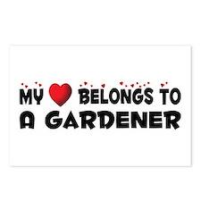 Belongs To A Gardener Postcards (Package of 8)
