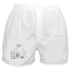 B For Bear Boxer Shorts
