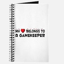 Belongs To A Gamekeeper Journal