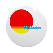 Malcolm Ornament (Round)
