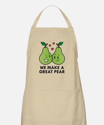 We Make A Great Pear Apron