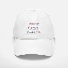 Theresa for Obama 2008 Baseball Baseball Cap