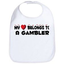 Belongs To A Gambler Bib