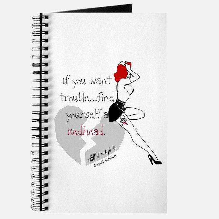 Redhead Bad Girl Journal