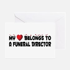 Belongs To A Funeral Director Greeting Card