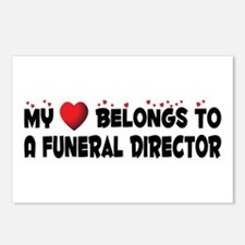 Belongs To A Funeral Director Postcards (Package o