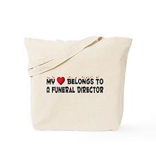 Belongs To A Funeral Director Tote Bag