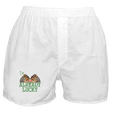 I'm Already Lucky Boxer Shorts
