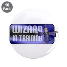 "Wizard 3.5"" Button (10 pack)"