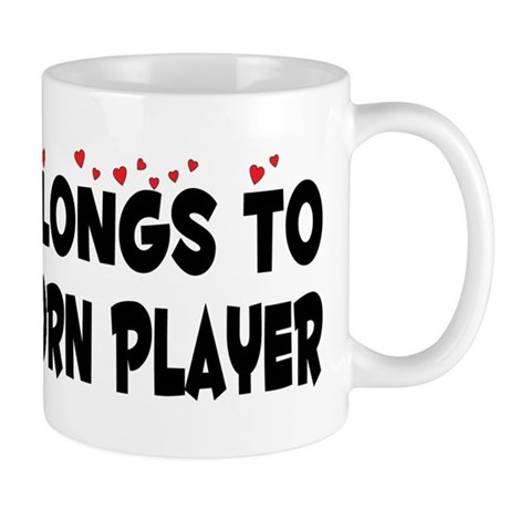 Belongs To A French Horn Player Mug