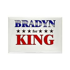 BRADYN for king Rectangle Magnet