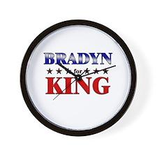 BRADYN for king Wall Clock