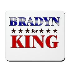BRADYN for king Mousepad