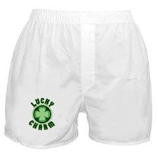 Lucky Charm St Patricks Day Boxer Shorts