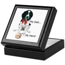 My Dad, My Hero Keepsake Box