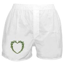 Shamrock Heart Wreath Boxer Shorts