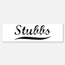 Stubbs (vintage) Bumper Bumper Bumper Sticker