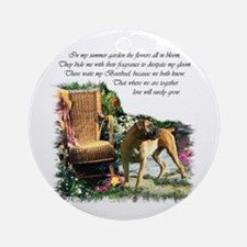 Boerboel Art Gifts Ornament (Round)