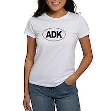 Adirondack (ADK) Euro Oval T-Shirt