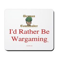 German Commander Mousepad
