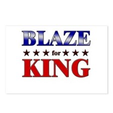 BLAZE for king Postcards (Package of 8)