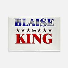 BLAISE for king Rectangle Magnet
