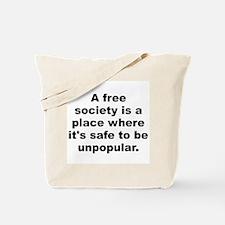 Funny E quotation Tote Bag